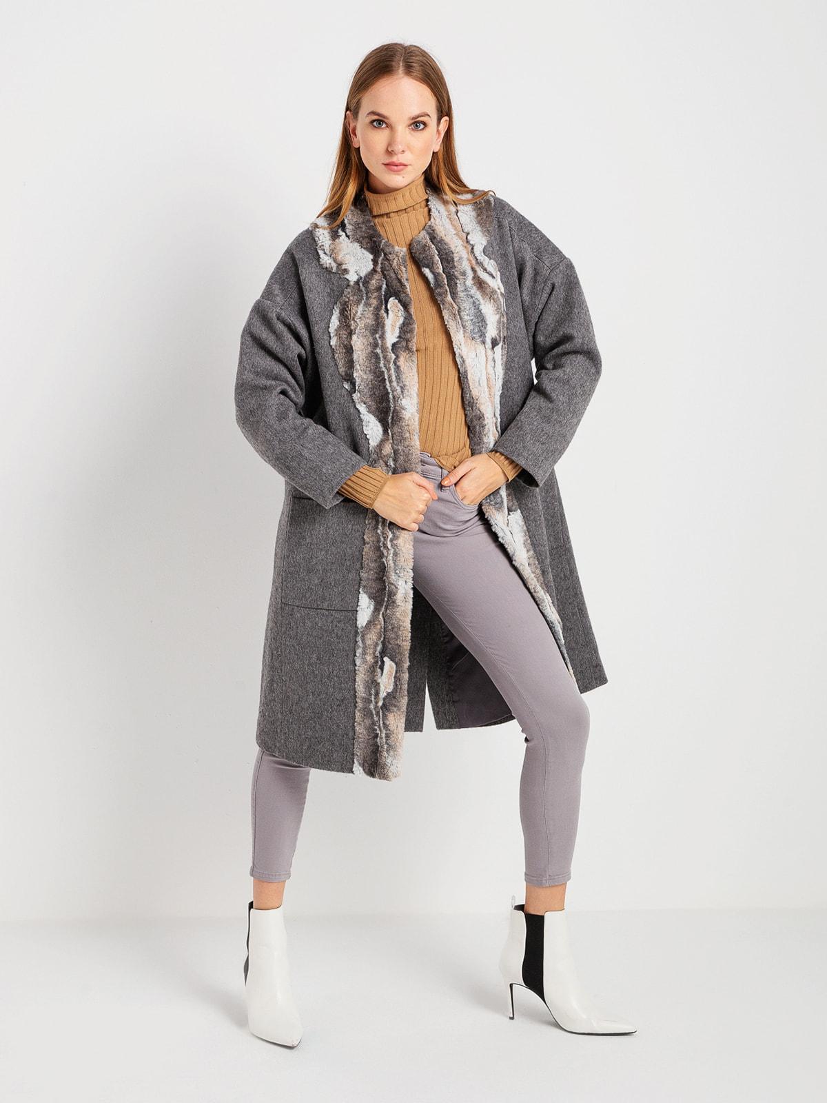 Пальто серое | 4715183