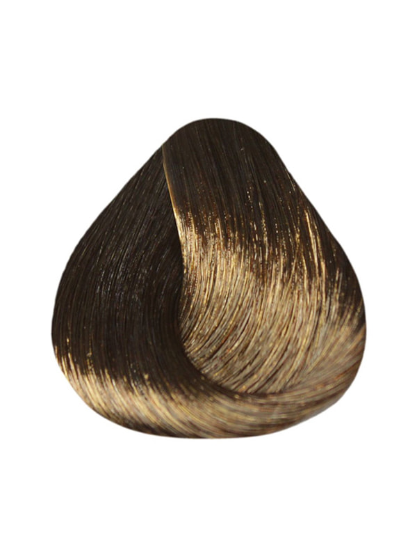 Краска-уход De Luxe - светлый шатен коричневый для седины (60 мл) | 4693679