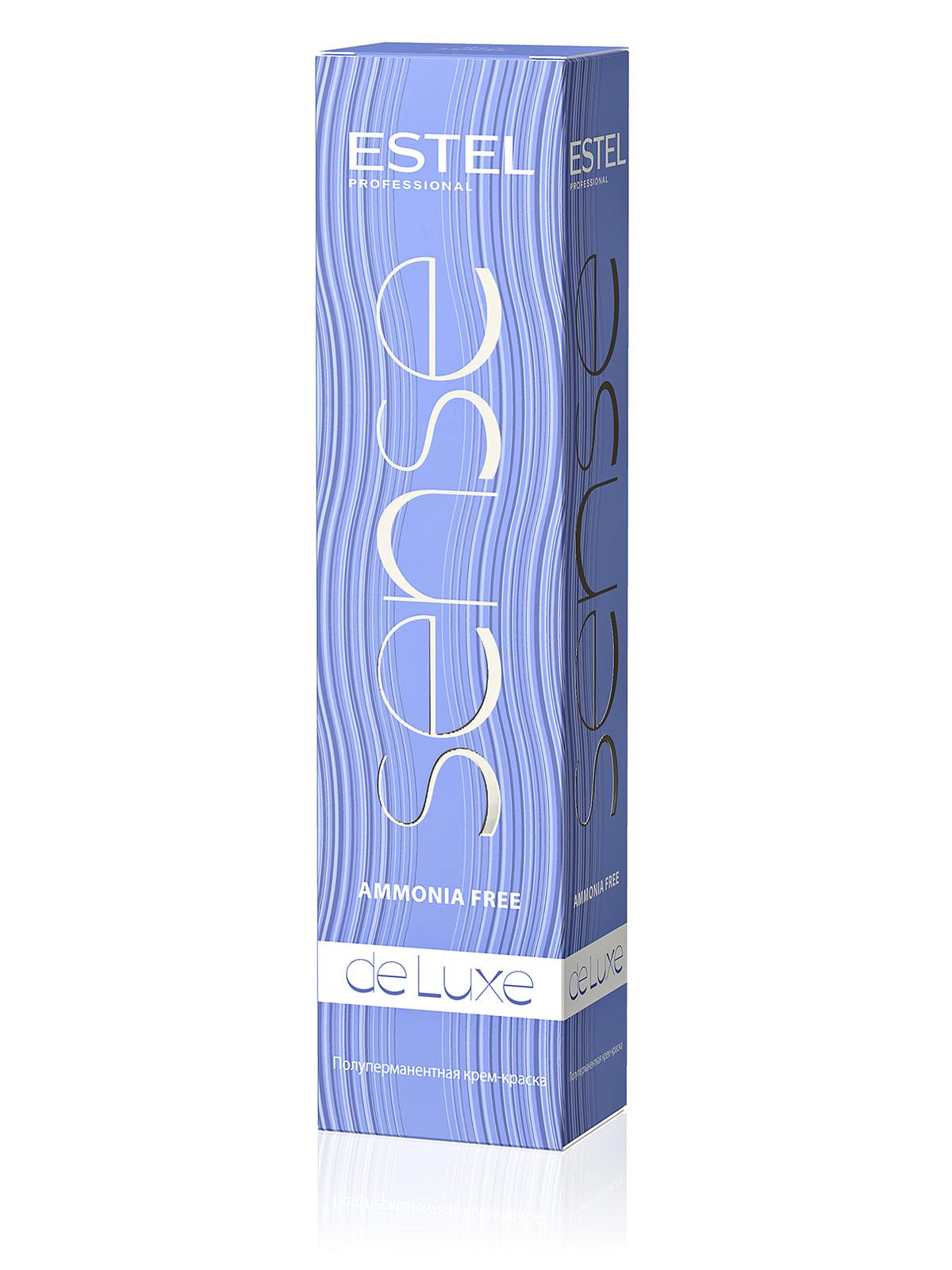 Краска-уход De Luxe Sense - русый пепельно-фиолетовый (60 мл) | 4693861 | фото 2