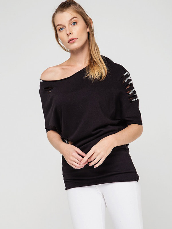 Блуза чорна | 4351211