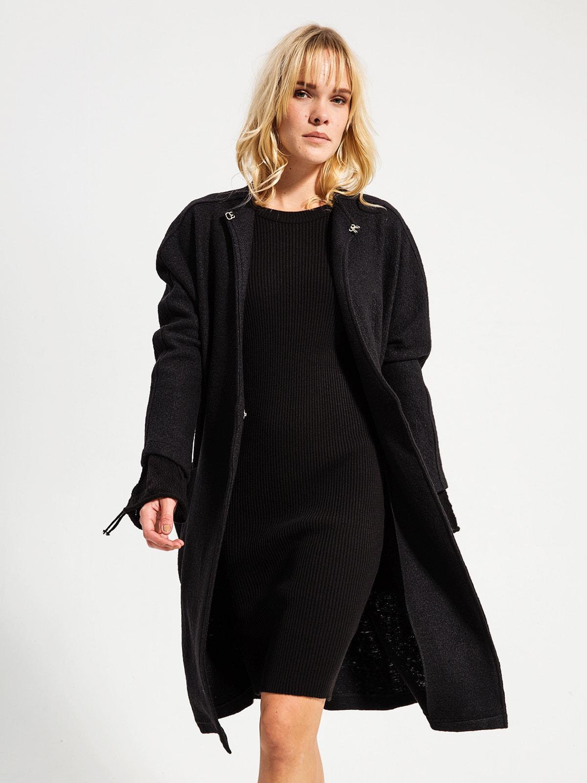 Пальто черное | 4716496 | фото 2