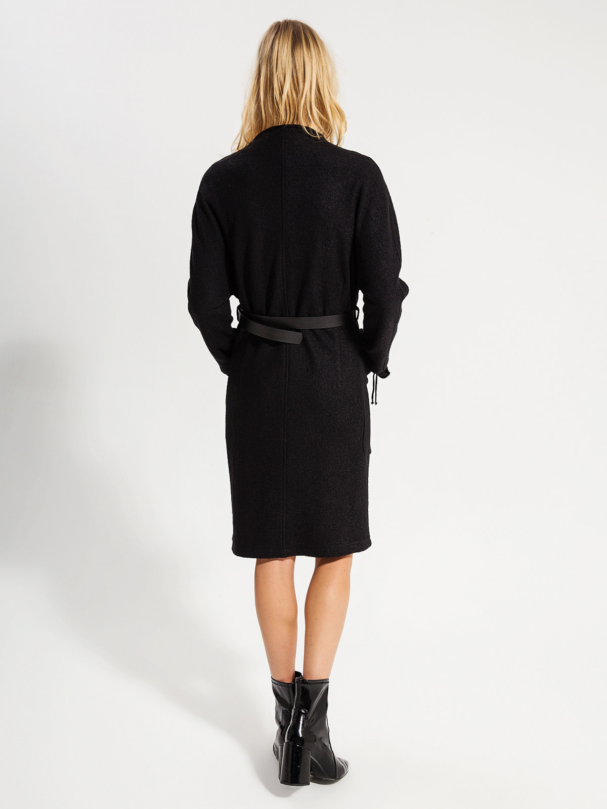 Пальто черное | 4716496 | фото 4