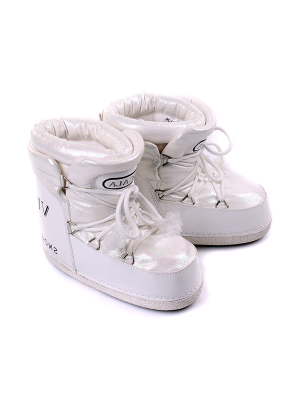 Ботинки белые   4716914