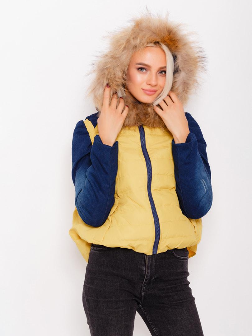 Куртка двухцветная | 4716946