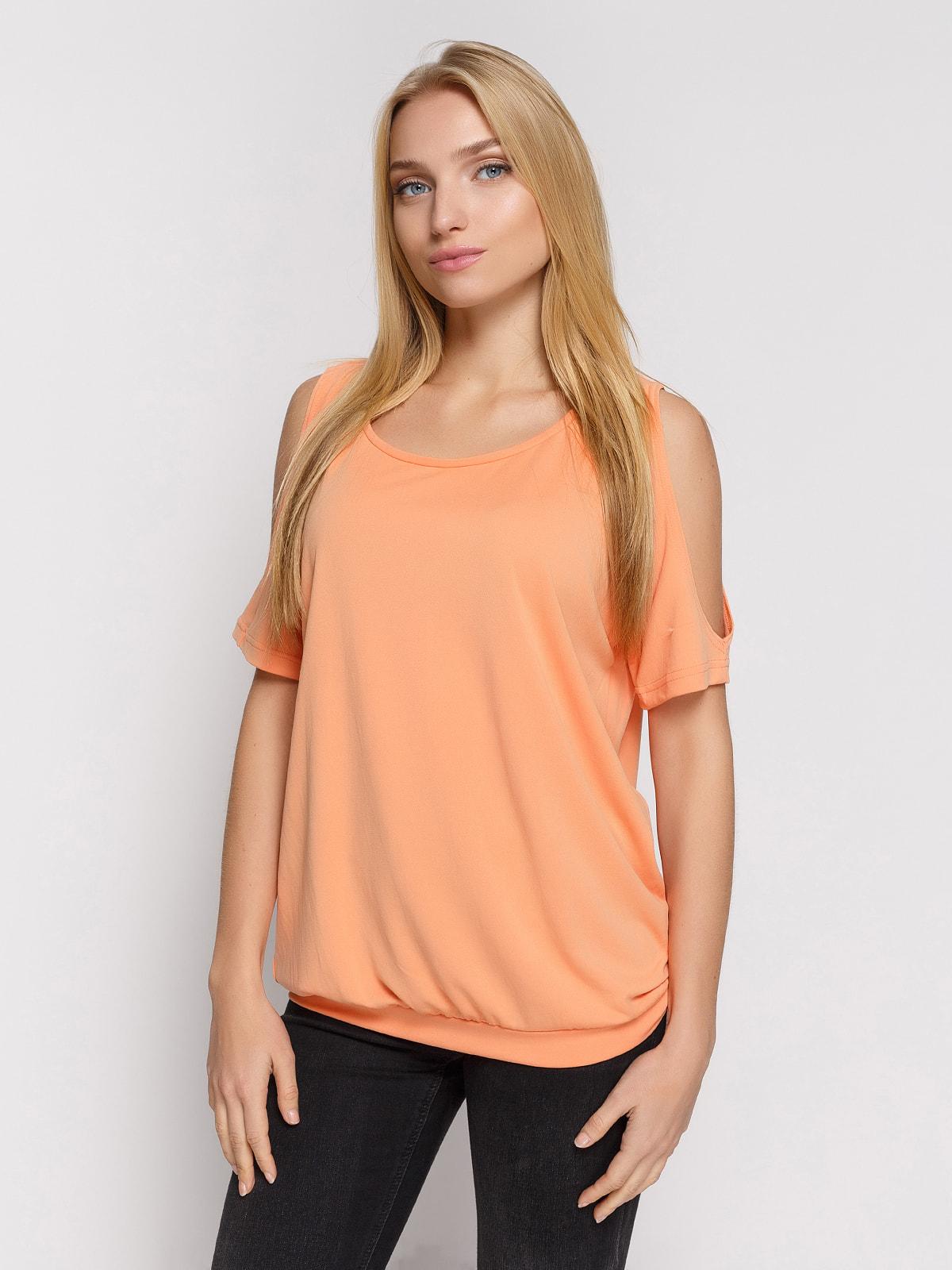 Блуза персикова | 4559996