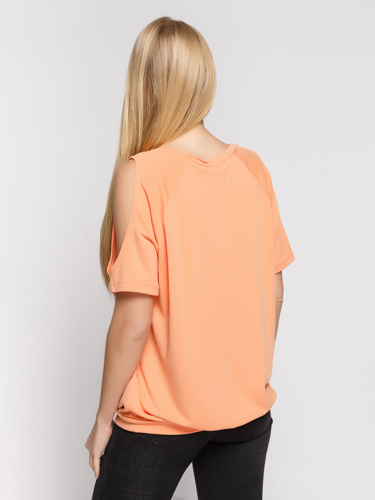 Блуза персикова | 4559996 | фото 2