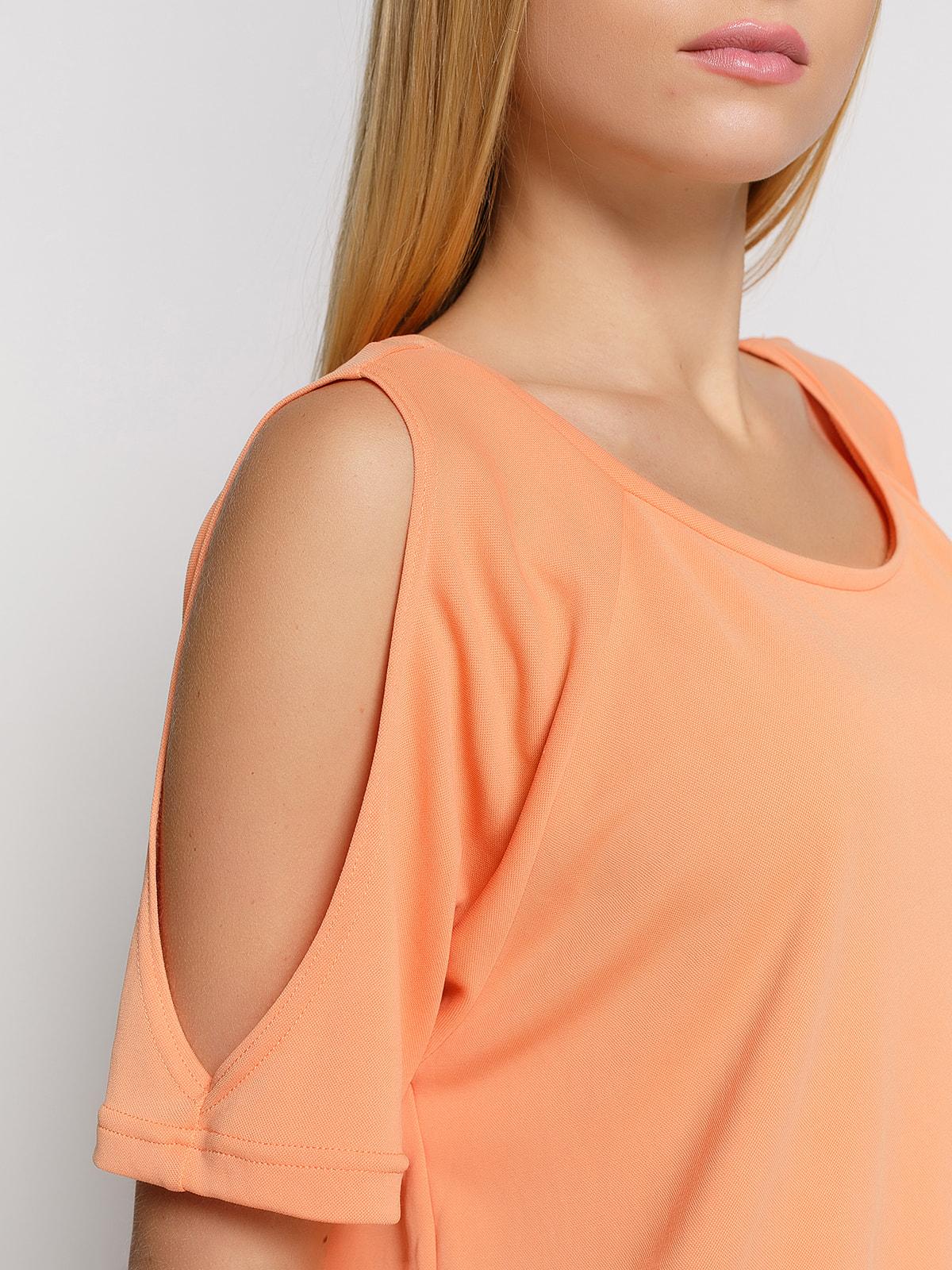 Блуза персикова | 4559996 | фото 3