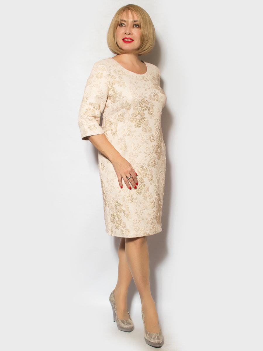 Платье золотистого цвета   4718013
