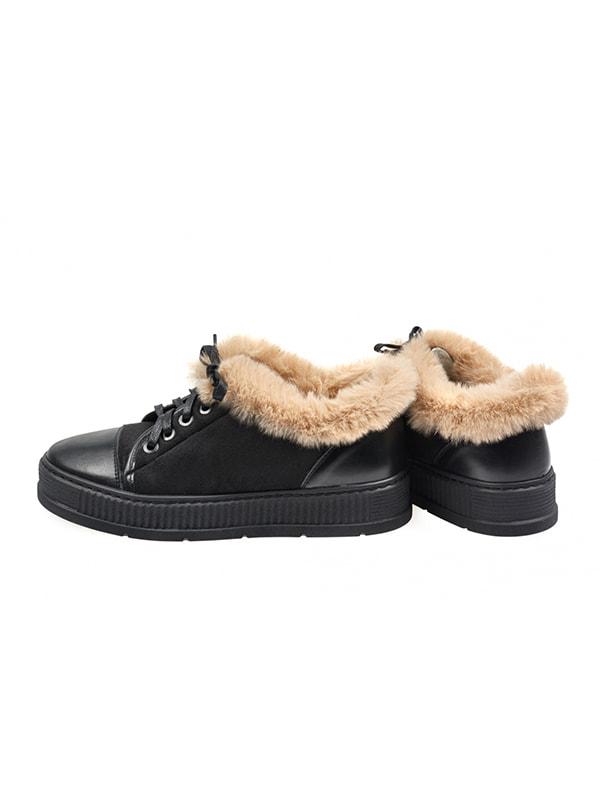 Ботинки черные | 4718795 | фото 2