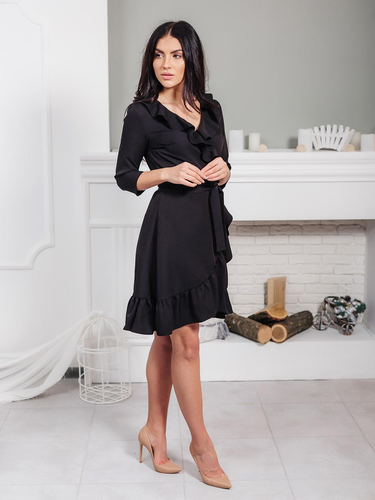 Платье черное | 4718927