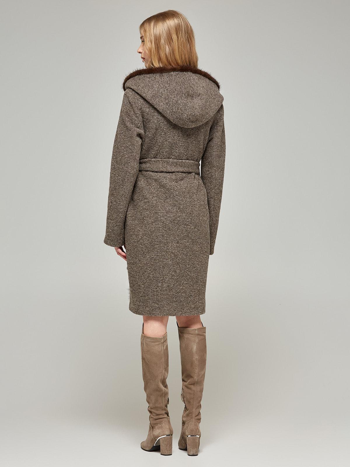 Пальто цвета капучино | 4587968 | фото 3
