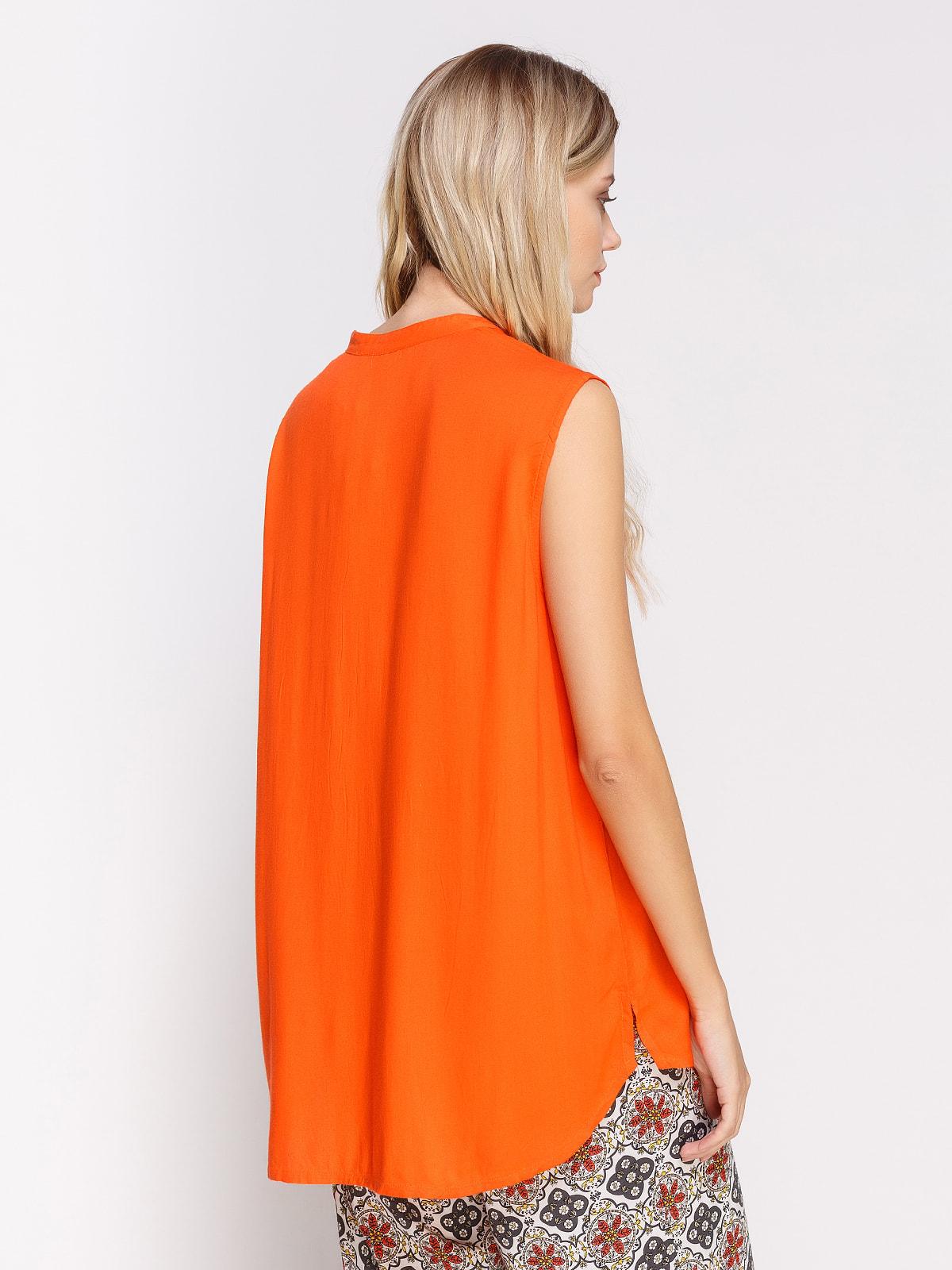 Блуза помаранчева | 4560126 | фото 2