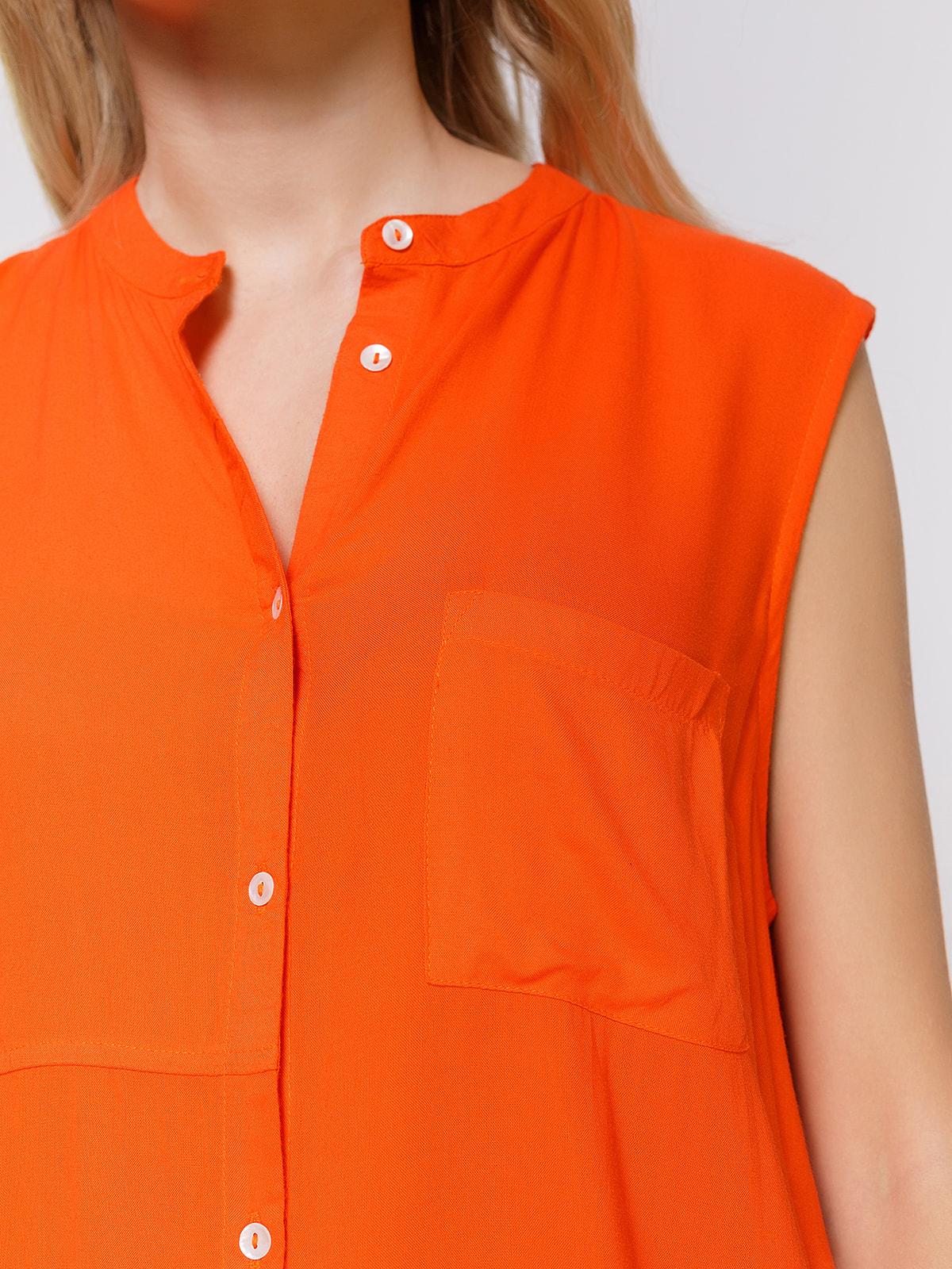 Блуза помаранчева | 4560126 | фото 3