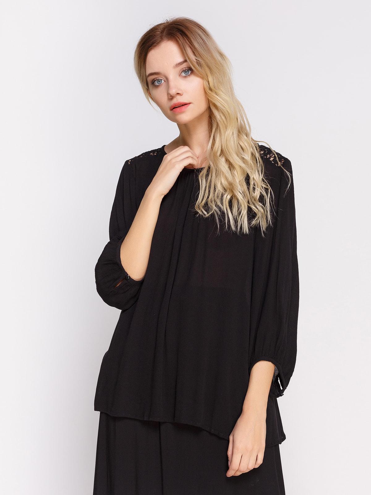Блуза чорна | 4559885