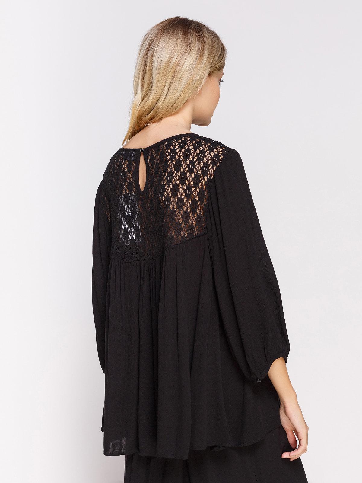 Блуза чорна | 4559885 | фото 2