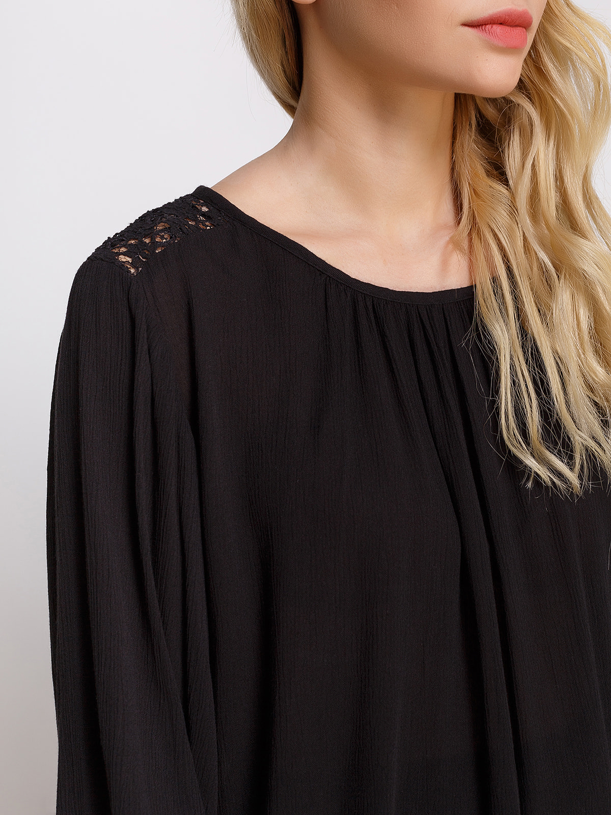 Блуза чорна | 4559885 | фото 3