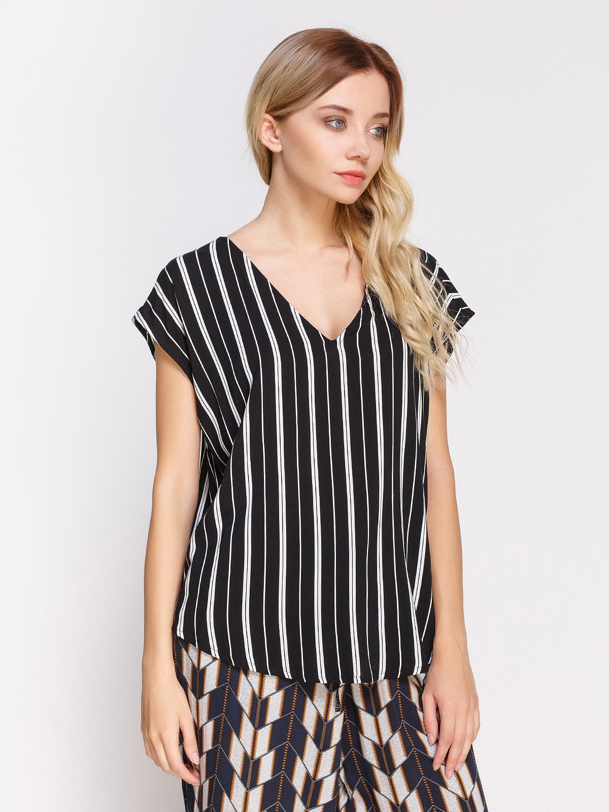 Блуза в смужку | 4560036