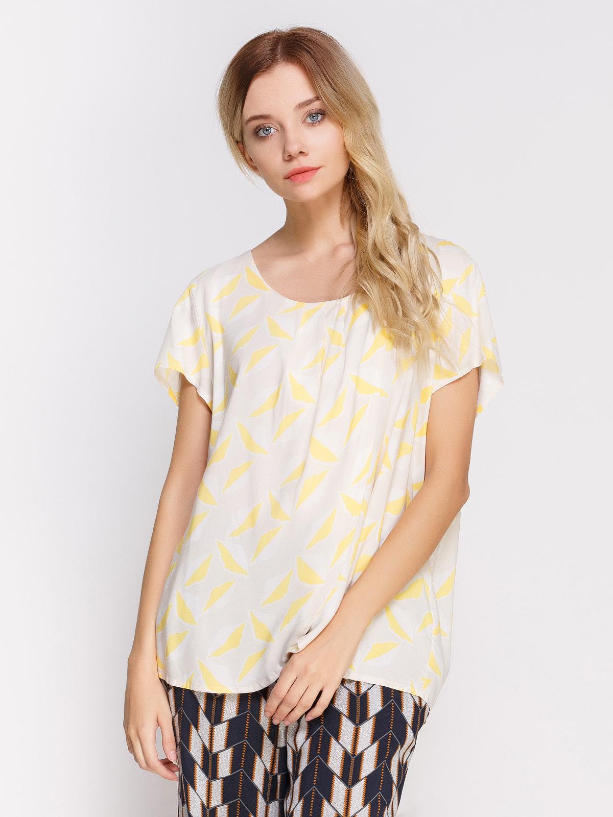 Блуза в принт   4560093