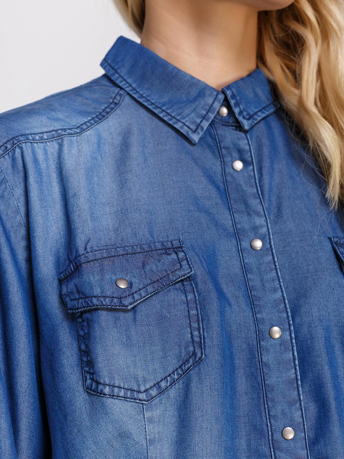 Сорочка синя | 4560336 | фото 3