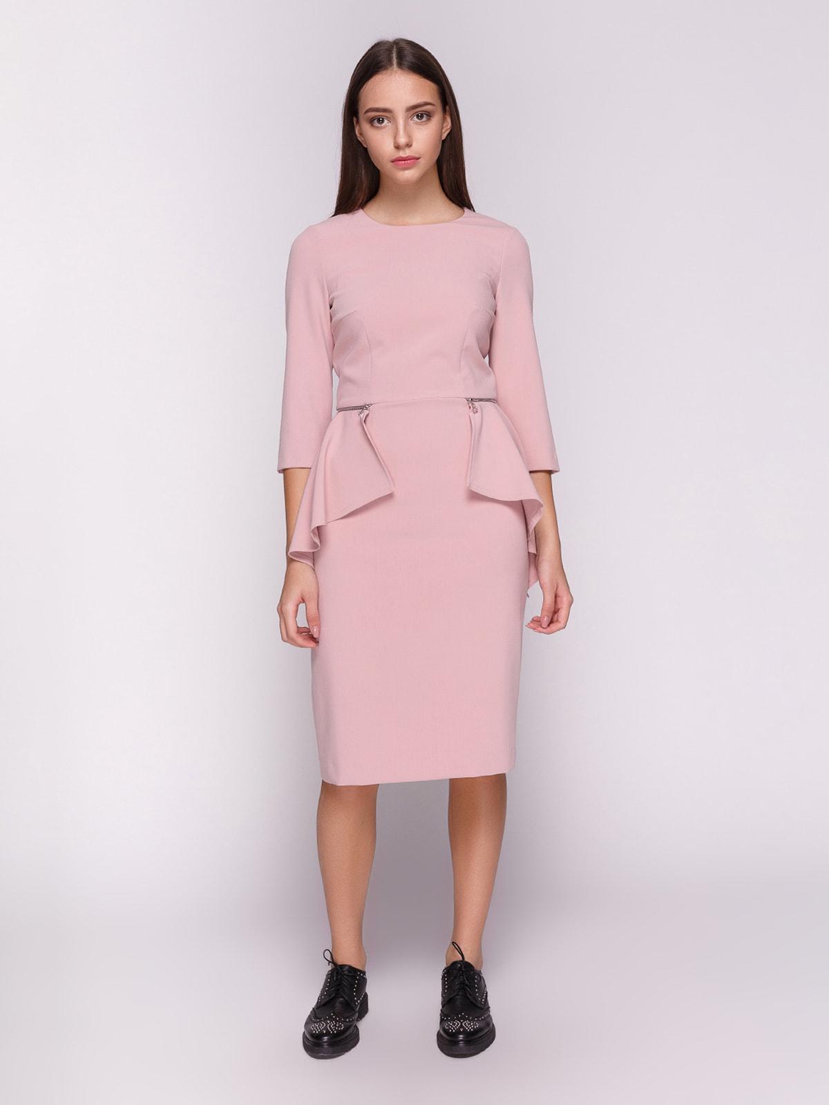 Платье розовое | 4611745