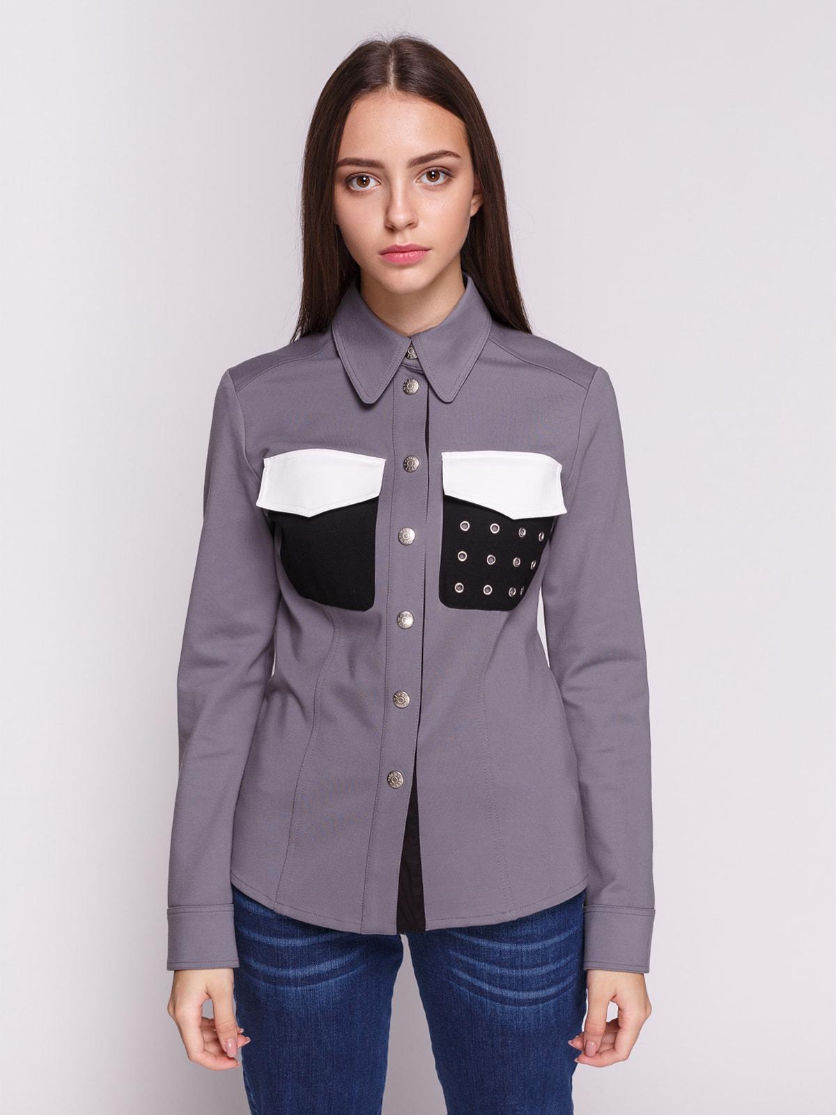 Рубашка серая | 4692711