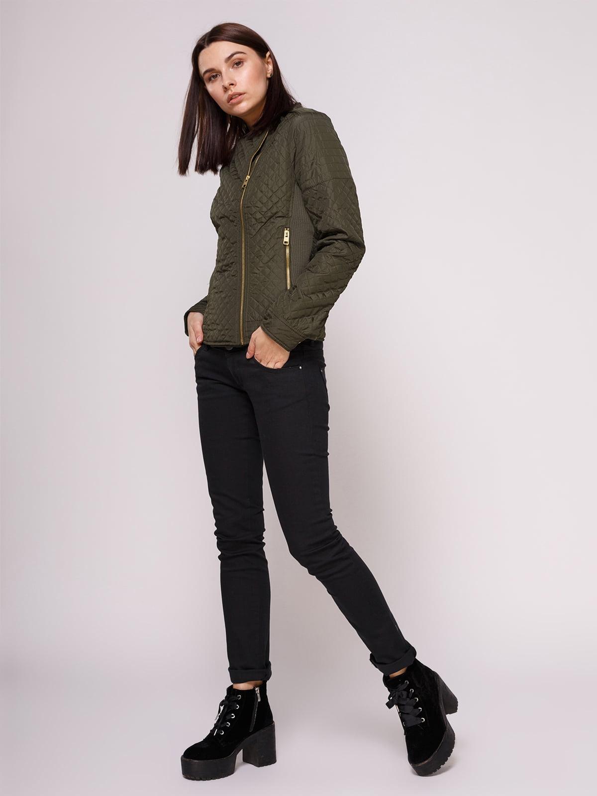 Куртка цвета хаки | 2322496 | фото 2