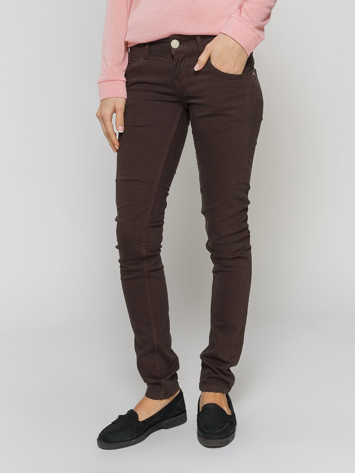 Штани коричневі | 2326209