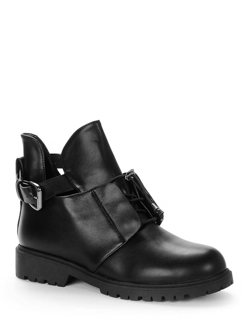 Ботинки черные   4719355