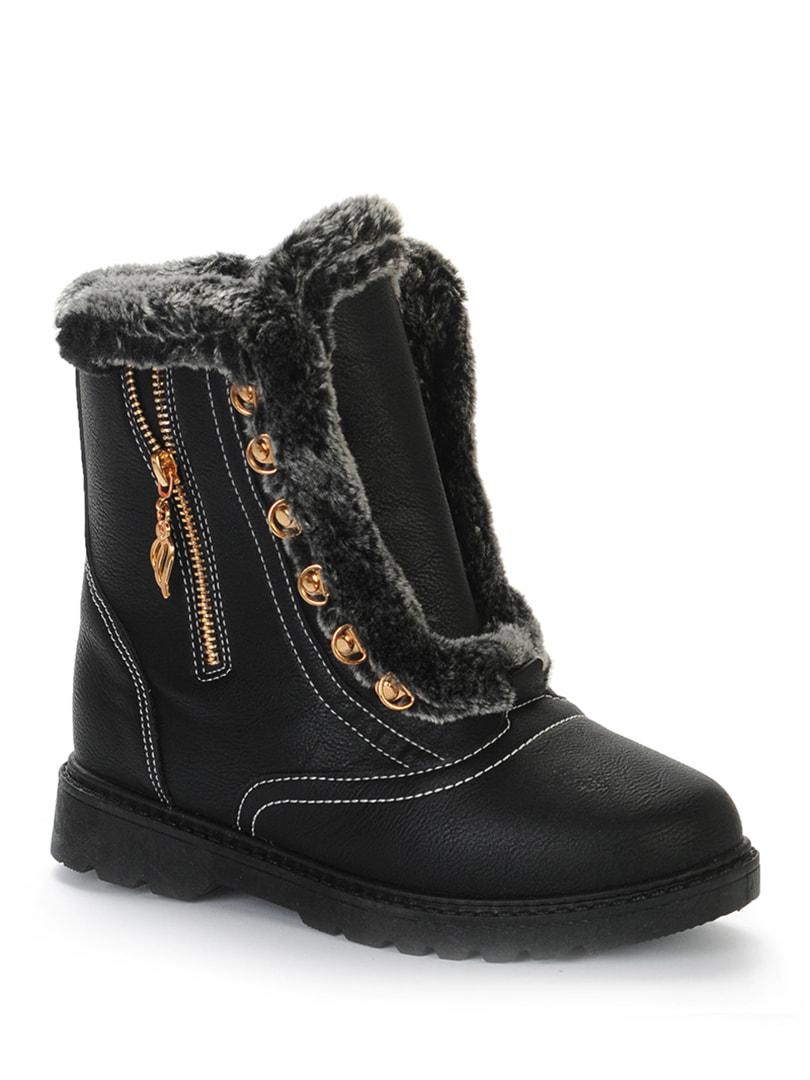 Ботинки черные | 4719390