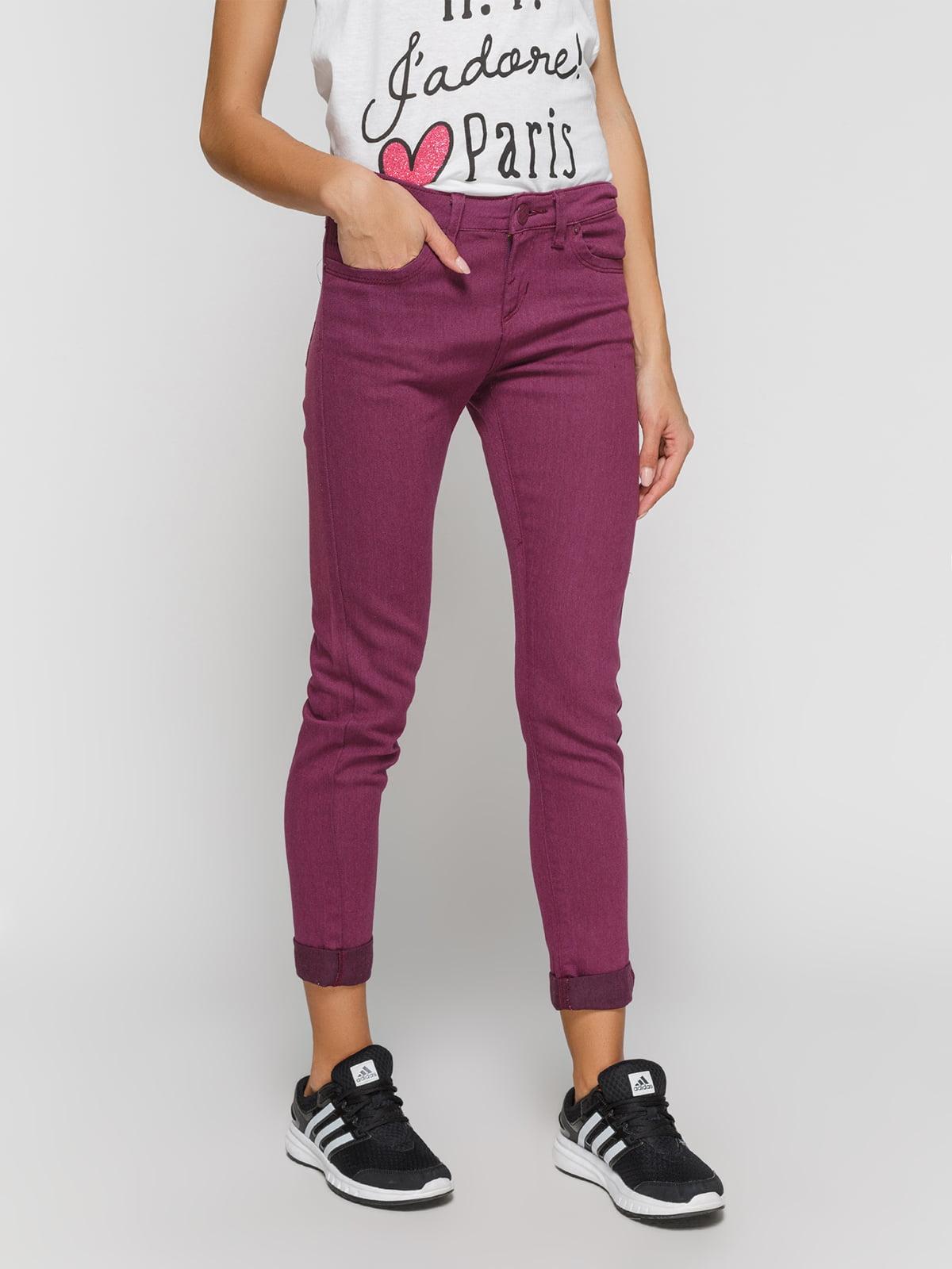 Джинси фіолетові | 3196077