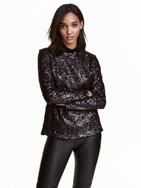 Блуза черная | 4726208