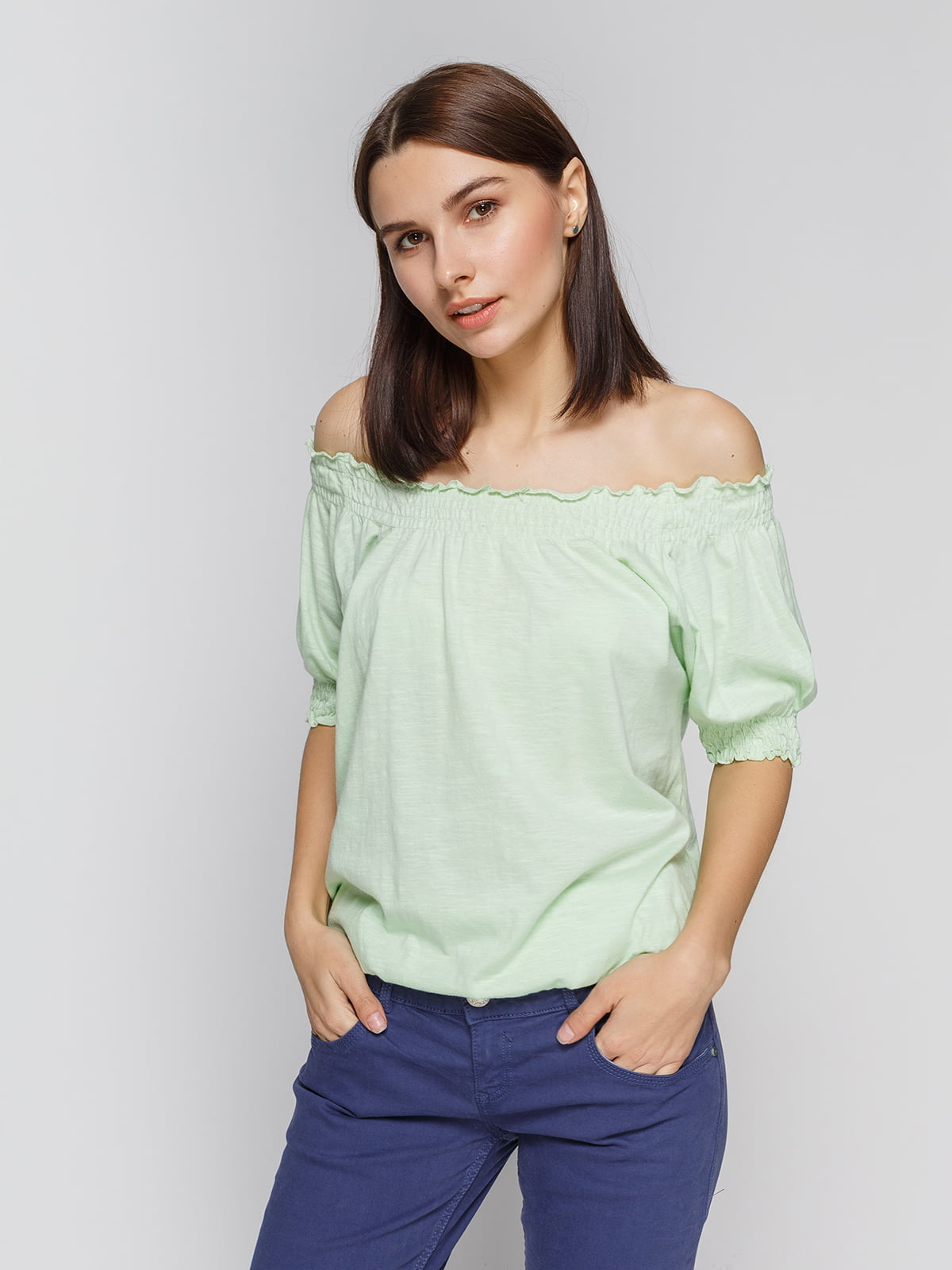 Блуза світло-зелена   2324388