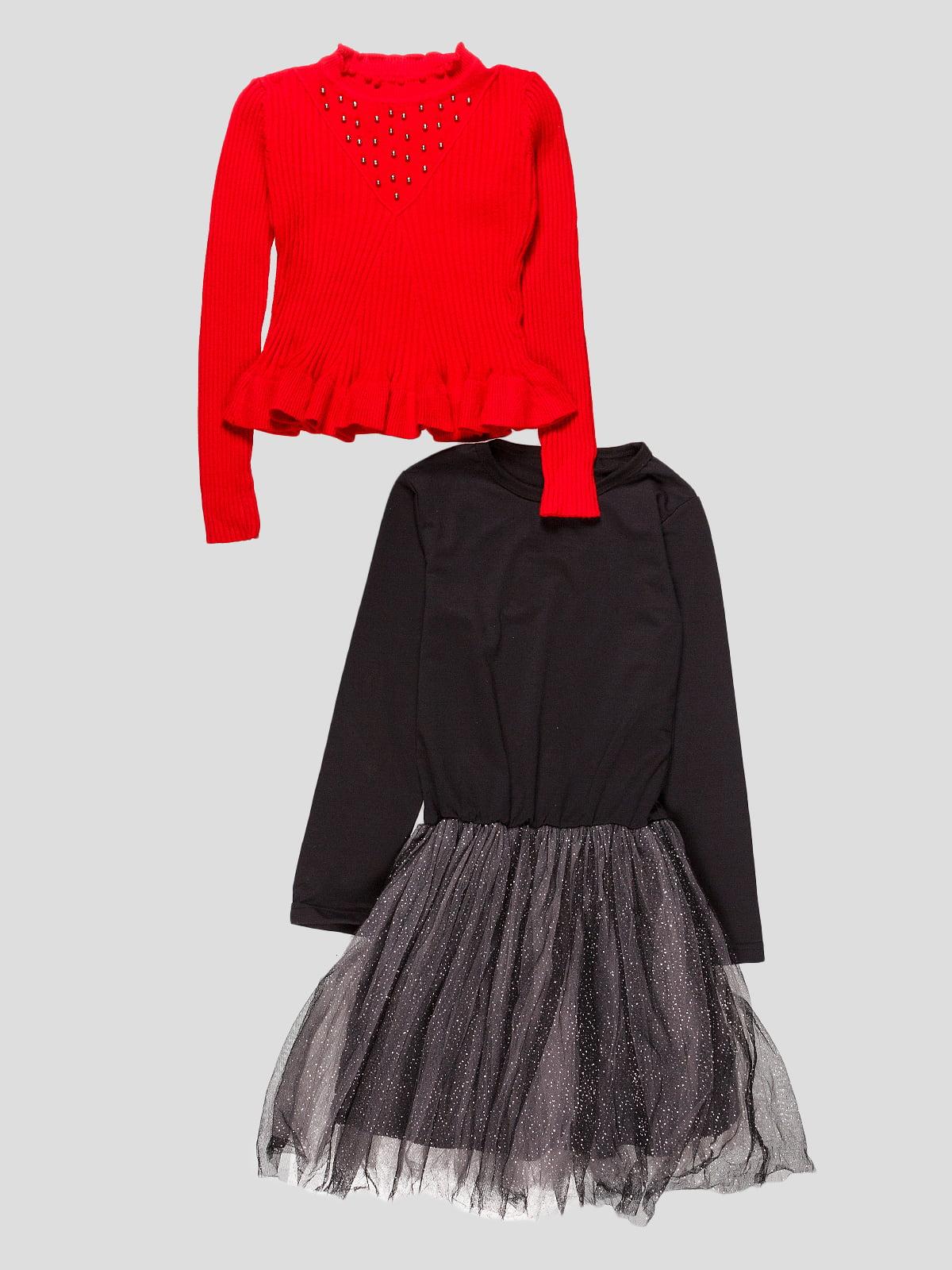 Комплект: сукня і джемпер   4722882