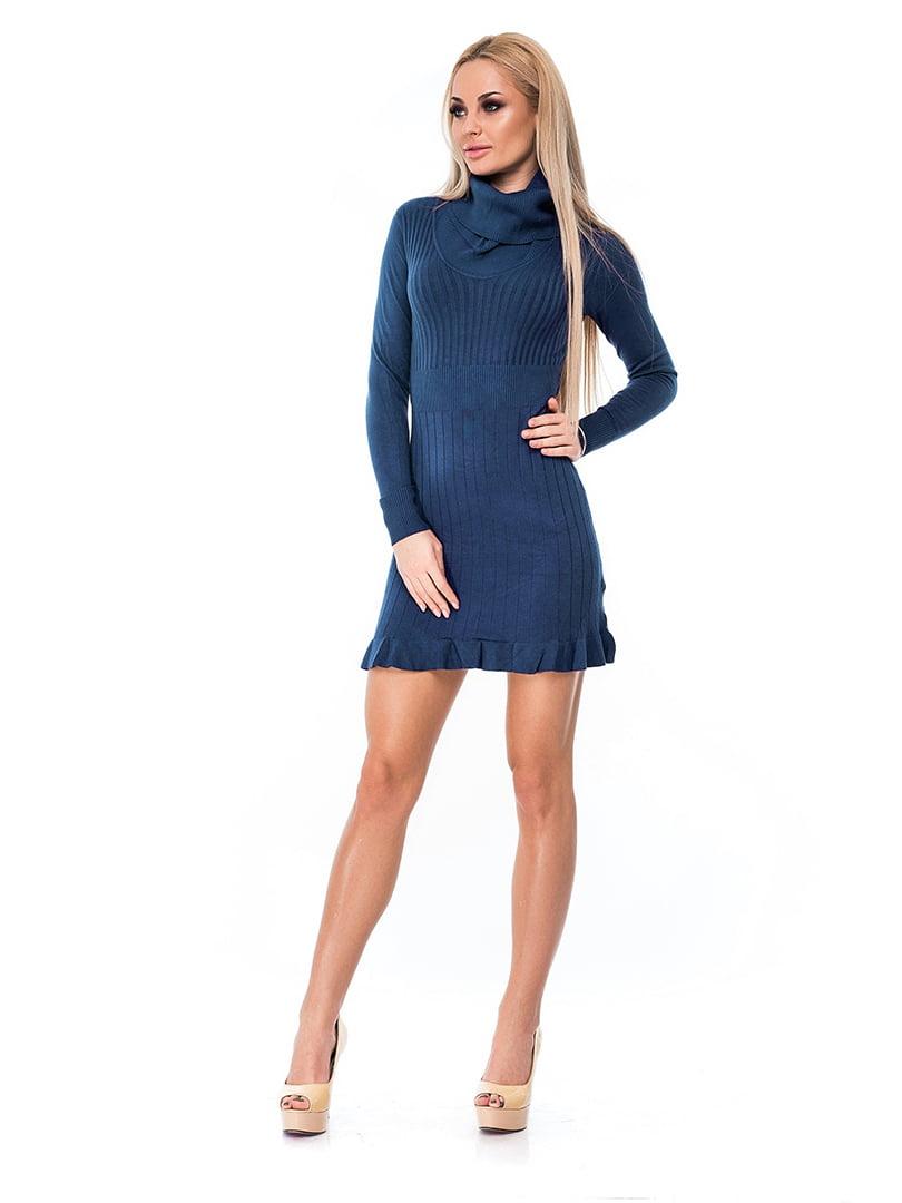 Платье синее | 4716973
