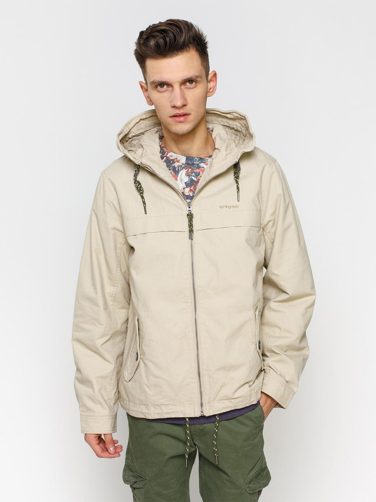 Куртка светло-бежевая   1899538