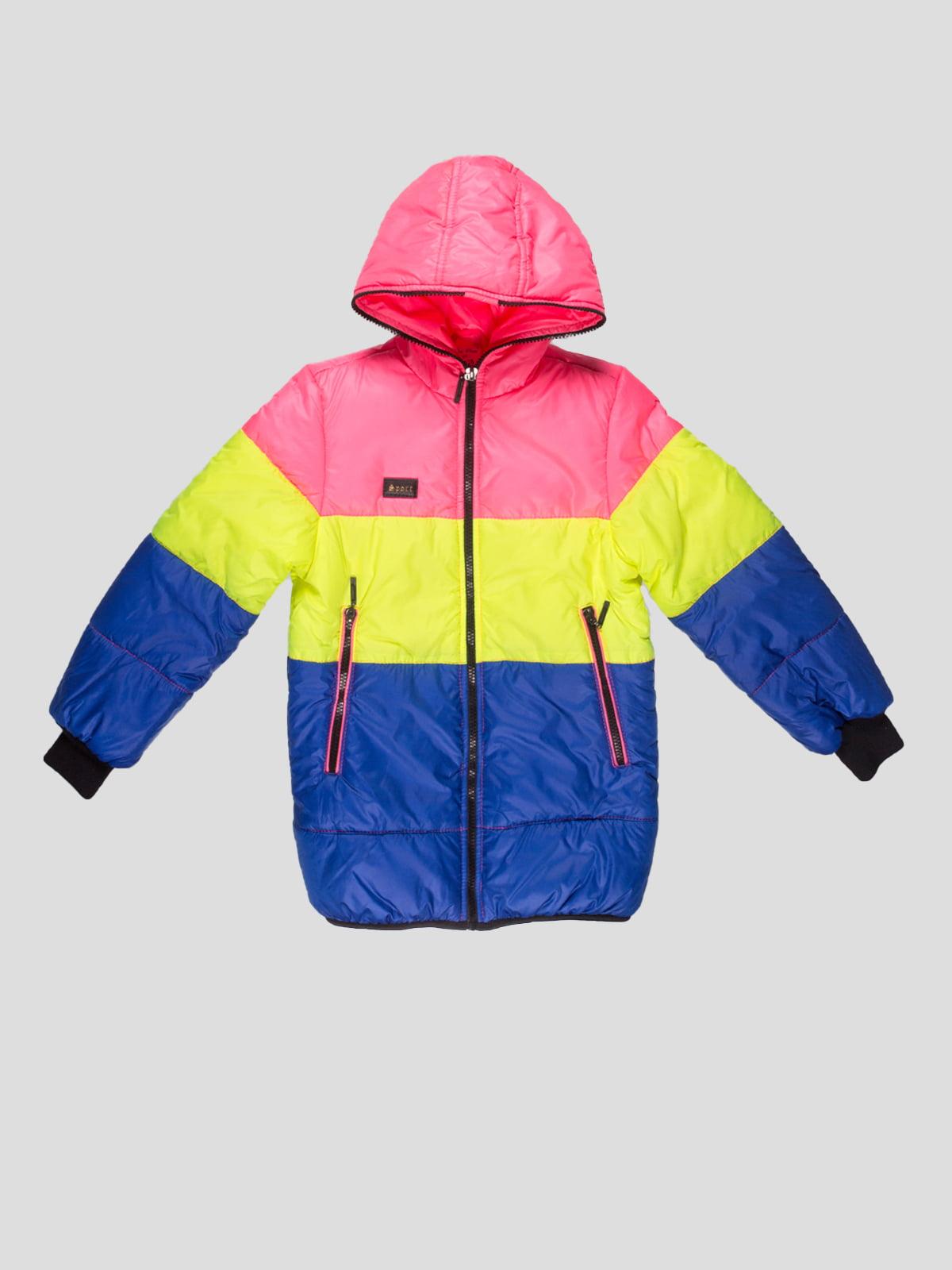 Куртка триколірна | 4707229