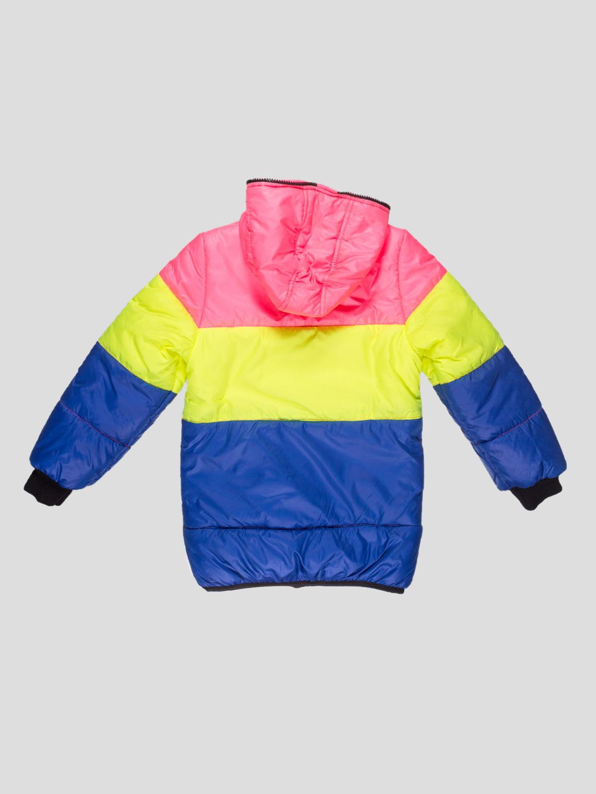 Куртка триколірна   4707229   фото 2