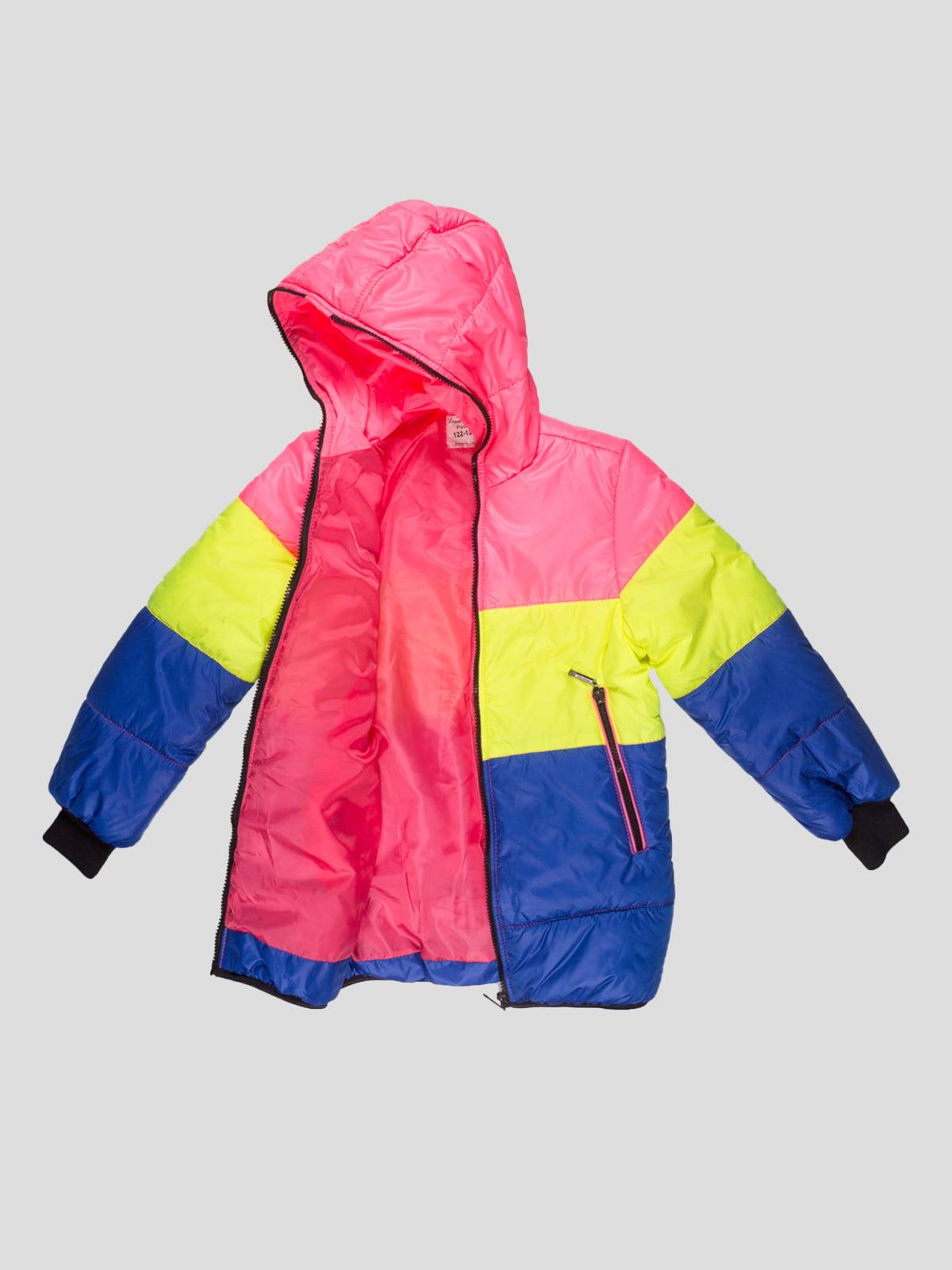 Куртка триколірна   4707229   фото 3