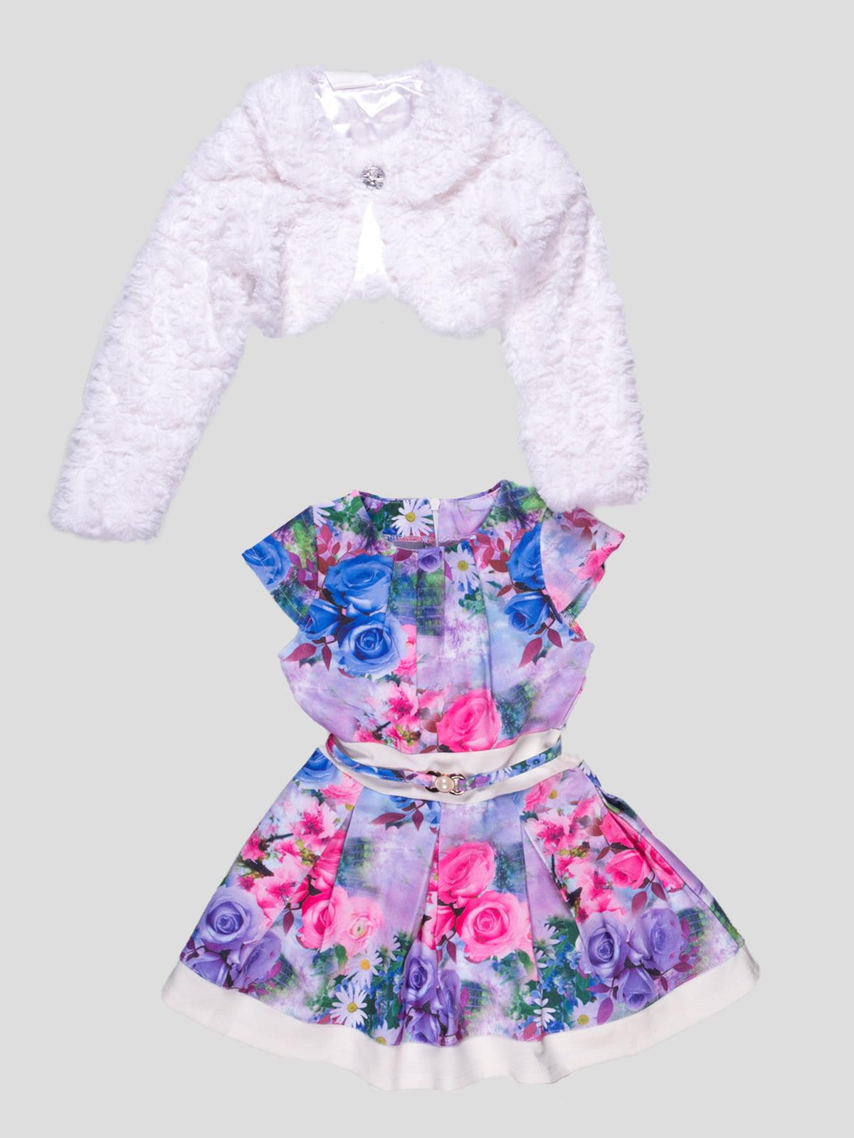 Комплект: платье и болеро   4715359
