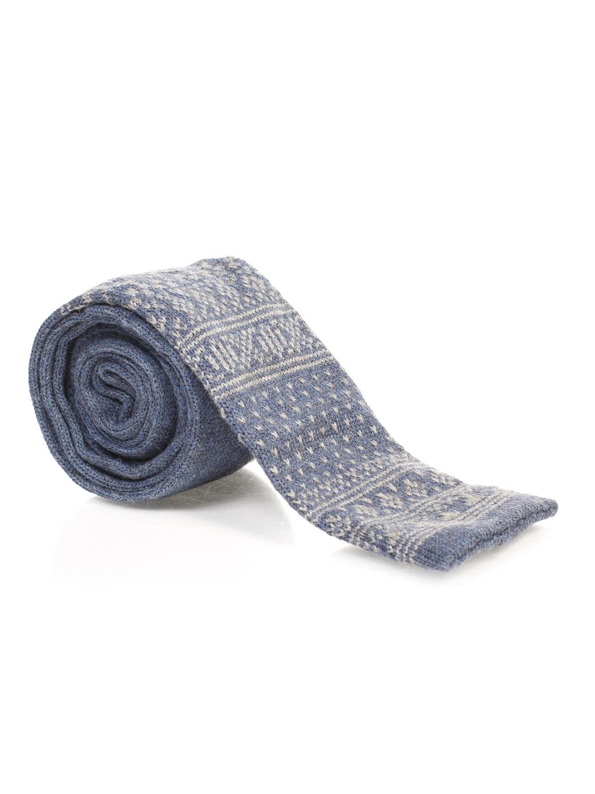 Краватка синя з орнаментом   1259760   фото 2