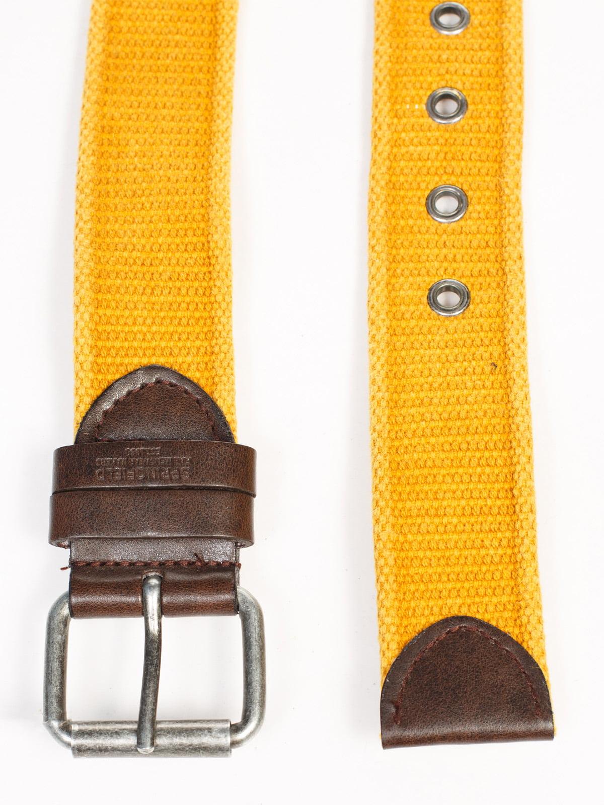 Ремінь жовтий | 1899539 | фото 3