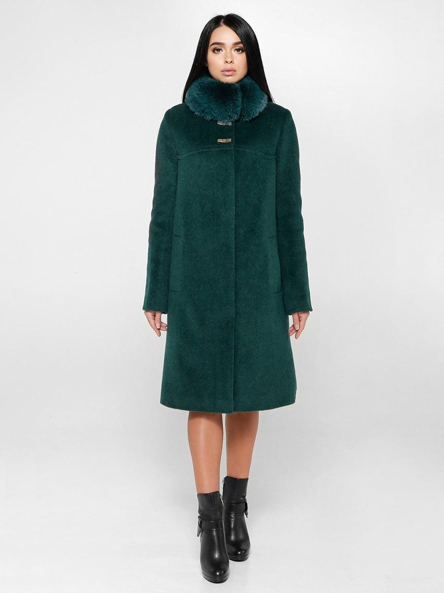 Пальто зеленое   4734425