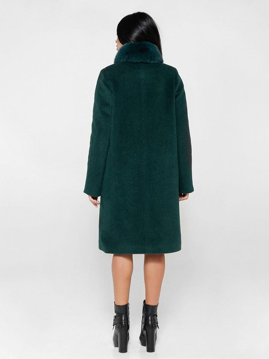 Пальто зеленое   4734425   фото 2