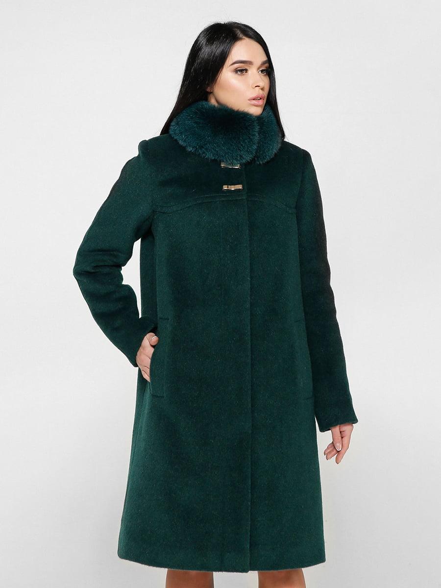 Пальто зеленое   4734425   фото 3