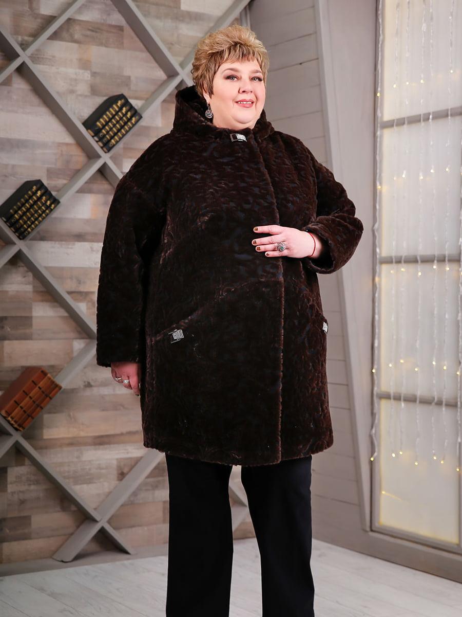 Пальто коричневое   4734583