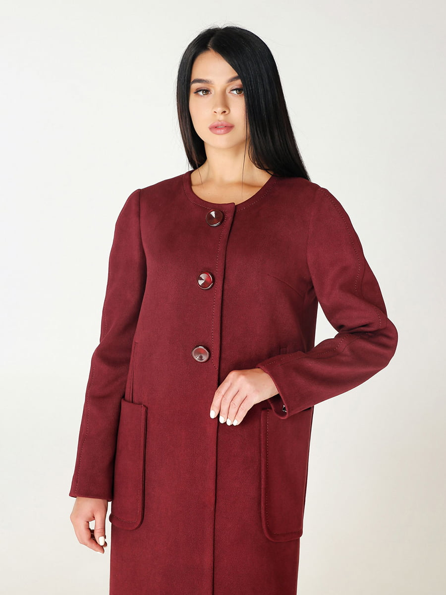 Пальто цегляного кольору   4735021   фото 2