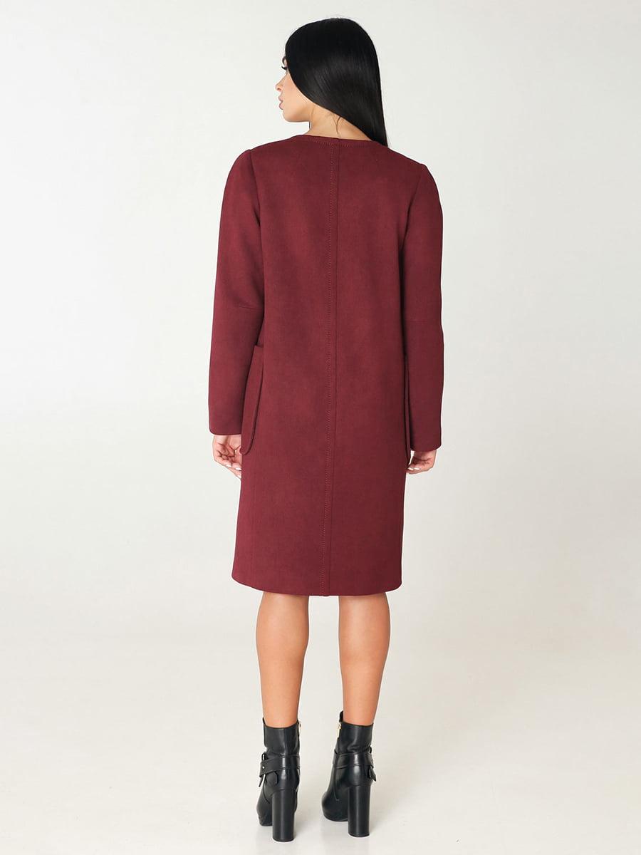 Пальто цегляного кольору   4735021   фото 3