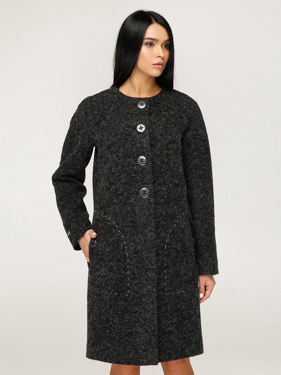 Пальто черное | 4735119 | фото 3