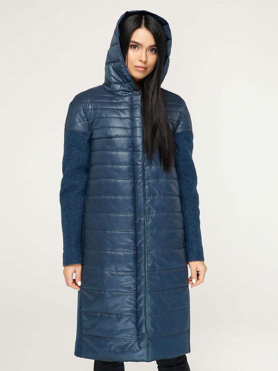 Пальто голубое | 4735127 | фото 3