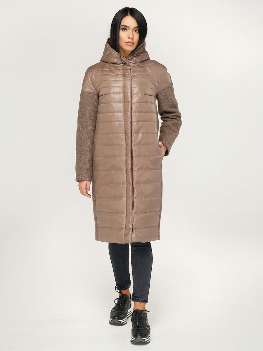 Пальто коричневе | 4735128